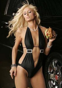 Paris Hilton stars in new commercial for Carls Jr burger
