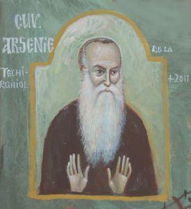 Cuviosul-Arsenie-bis.-grigore-alexandrescu-15x15-cm-acryl-2011