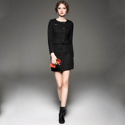 2015-The-newest-fashionable-high-quality-elegant-woolen-OL-Skirt-sets-Extraordinary-beautiful-winter-women-lady