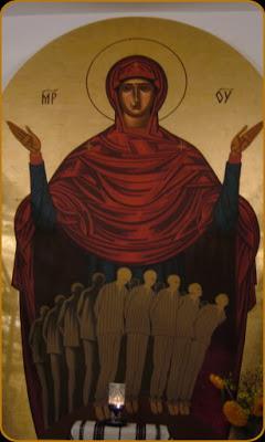 sfintii inchisorilor-aiud-osuar-fresca Maica Domnului