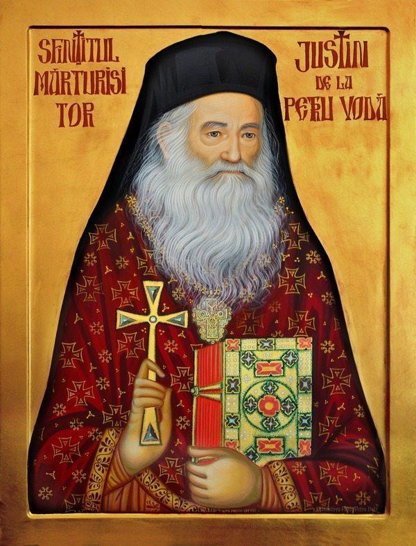Sfintitul-Marturisitor-JUSTIN-de-la-Petru-Voda_icoana-realizata-de-maicile-de-la-man.-Paltin-Petru-Voda